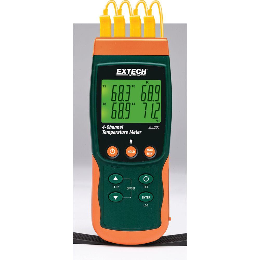 4-Channel Thermometer SD Logger