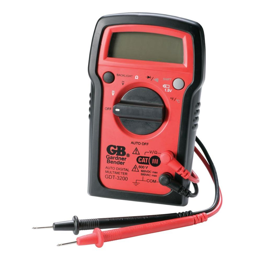 7-Functions Auto Ranging Digital Multimeter